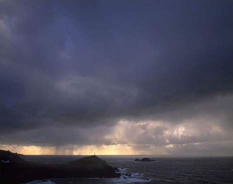Storm, Cape Cornwall