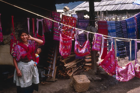 Woman and baby, Guatemala
