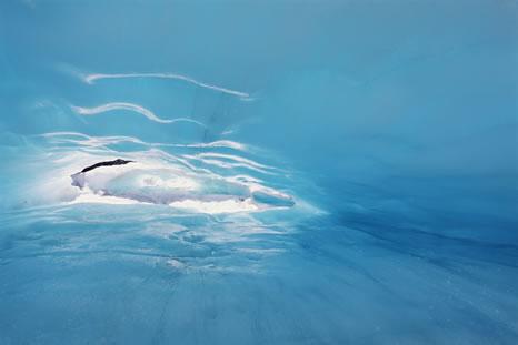 Ice Hole, Fox Glacier, New Zealand