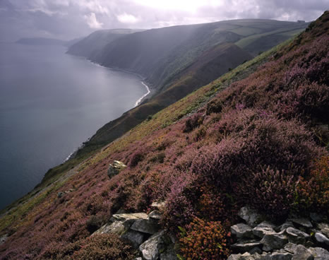 Countisbury Hill, Lynmouth